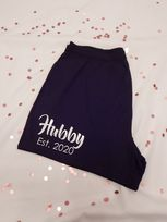 Hubby Established Wedding Boxer Shorts